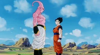 Imagen de Gohan desafía a Super Buu en esta impresionante figura de Dragon Ball Z