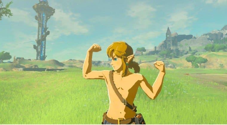Imagen de Completan The Legend of Zelda: Breath of the Wild usando únicamente escudos