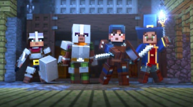 Imagen de Minecraft Dungeons lanza su cinemática de apertura