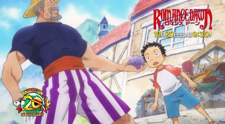 Imagen de One Piece: Romance Dawn: Fecha y tráiler del episodio 'beta' del anime