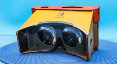 Imagen de Nintendo registra una patente para un periférico VR de Switch
