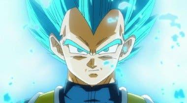 Imagen de Vegeta protagonista de esta nueva increíble resina de Dragon Ball Super