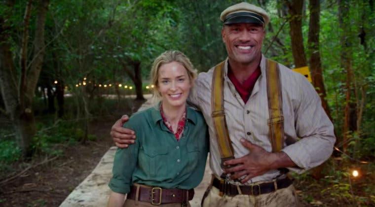 Imagen de Emily Blunt y Dwayne Johnson brillan en el primer tráiler de Jungle Cruise