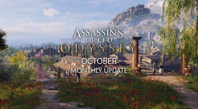 Imagen de Estos son los contenidos que llegan a Assassin's Creed Odyssey en octubre