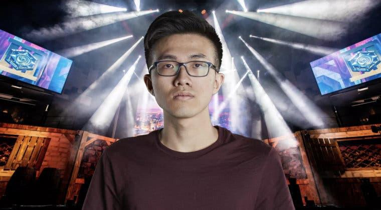 Imagen de Blitzchung, el jugador pro Hong Kong de Hearthstone vetado, no se arrepiente de sus acciones