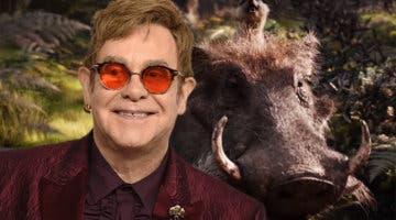 Imagen de Elton John califica a El Rey León de decepción: