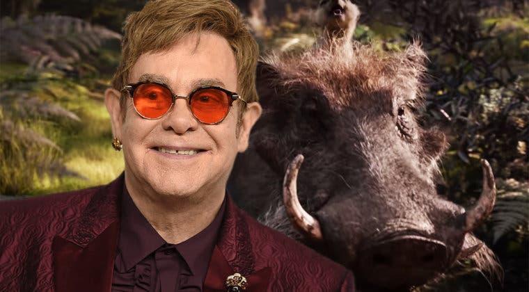 """Imagen de Elton John califica a El Rey León de decepción: """"han arruinado la música"""""""