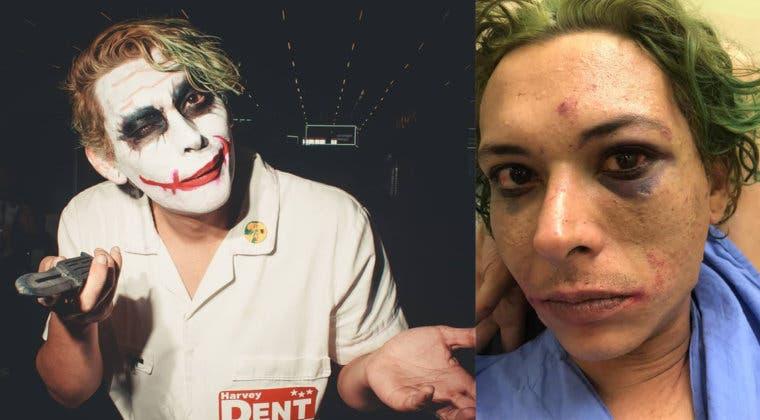 Imagen de Un cosplayer del Joker es apaleado brutalmente por la seguridad del Brazil Game Show