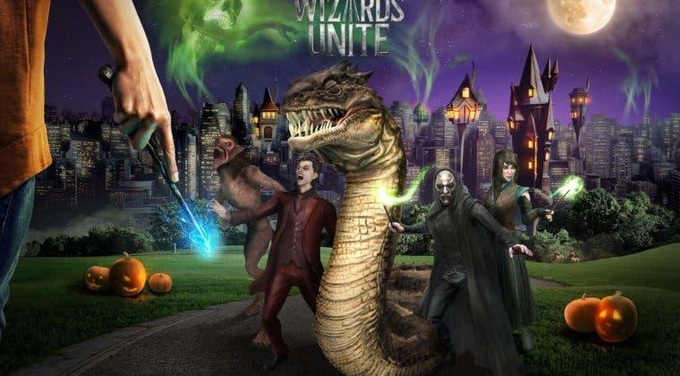 Imagen de Octubre será el mes de las artes oscuras en Harry Potter Wizards Unite