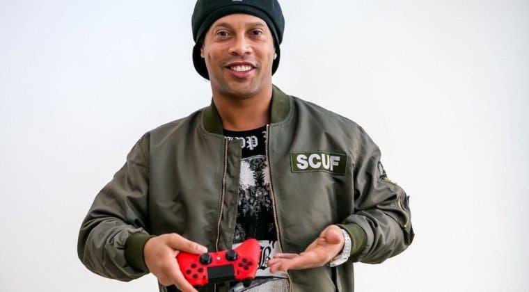 Imagen de Ronaldinho se convierte en la nueva imagen de Scuf Gaming
