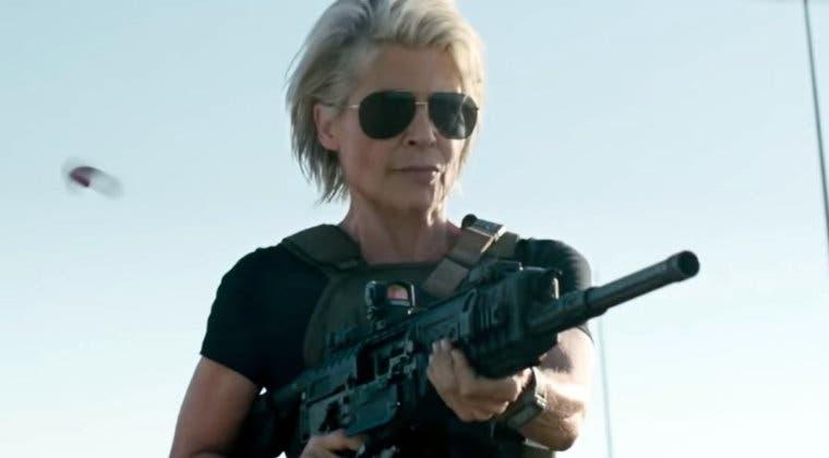 Imagen de Sarah Connor explota en el último clip de Terminator: Destino Oscuro