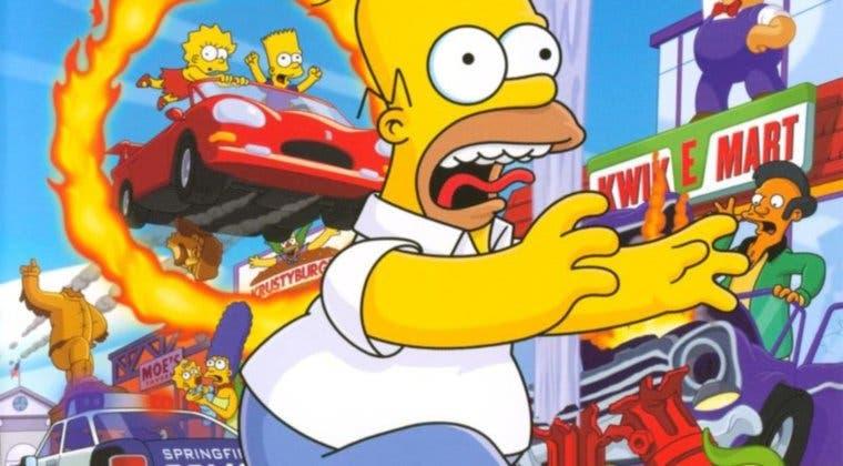 Imagen de ¿Remake o remaster de The Simpsons Hit & Run? A su productor le encantaría