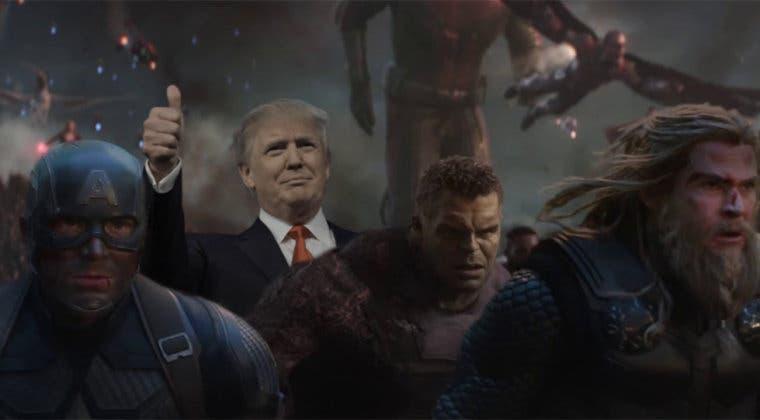 Imagen de Vengadores: Endgame convertía a uno de sus héroes en vicepresidente de USA