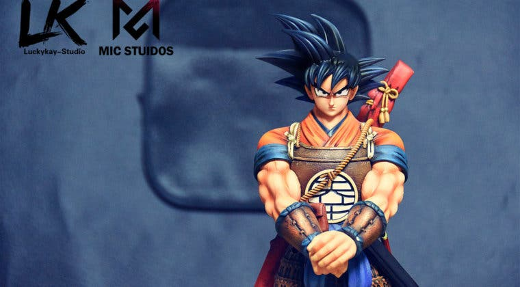 Imagen de Goku como nunca antes lo habías visto en Dragon Ball con esta figura