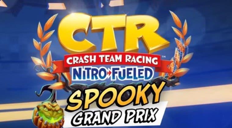 Imagen de Crash Team Racing Nitro-Fueled detalla la cuarta temporada del Grand Prix 'Spooky Grand Prix'
