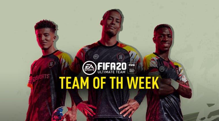 Imagen de FIFA 20: Este es el equipo de la semana o TOTW 39