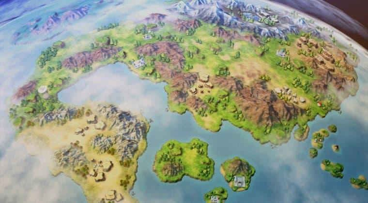 Imagen de Dragon Ball Z: Kakarot: Revelado el mapa y todas sus localizaciones