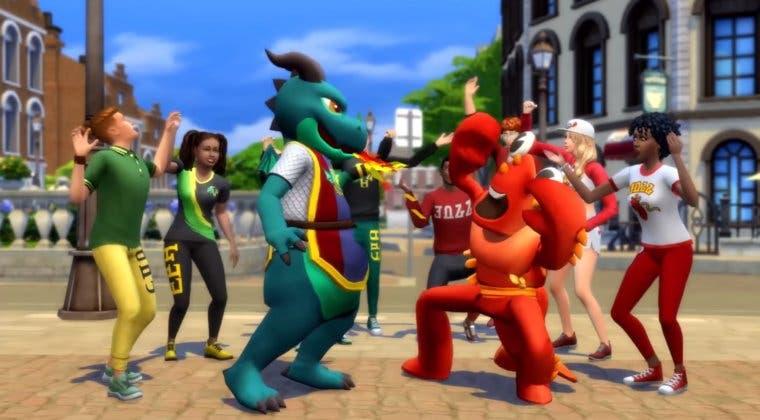 Imagen de Los Sims 4 fecha la expansión Días de Universidad y luce un tráiler
