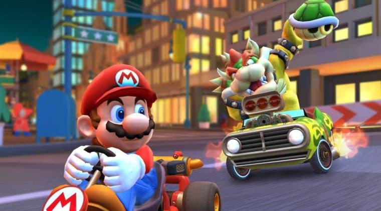Imagen de Mario Kart Tour luce el tráiler de Tokio y varias de sus novedades