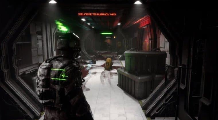 Imagen de Negative Atmosphere, con su estilo Dead Space, podría llegar a consolas