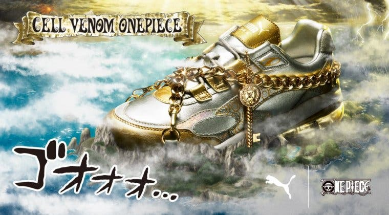 Imagen de One Piece y Puma anuncian unas increíbles zapatillas deportivas
