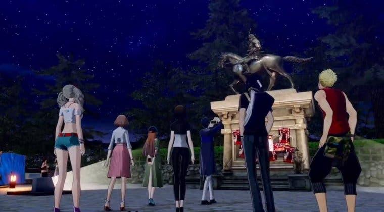 Imagen de Nuevo gameplay de Persona 5 Scramble nos presenta nuevas zonas de Okinawa