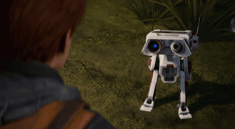 Imagen de Star Wars Jedi: Fallen Order luce al adorable BD-1 en su último tráiler