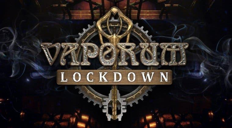 Imagen de La precuela de Vaporum, Lockdown, llegará a PC y consolas a principios de 2020