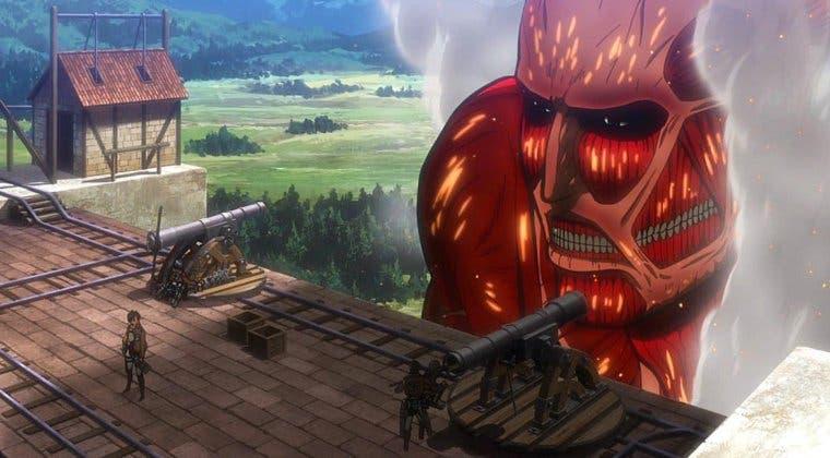Imagen de Ataque a los Titanes muestra una imagen de su nueva montaña rusa