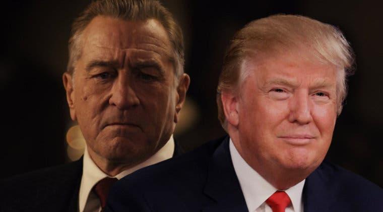 Imagen de El Irlandés: Robert De Niro jamás interpretaría a Donald Trump