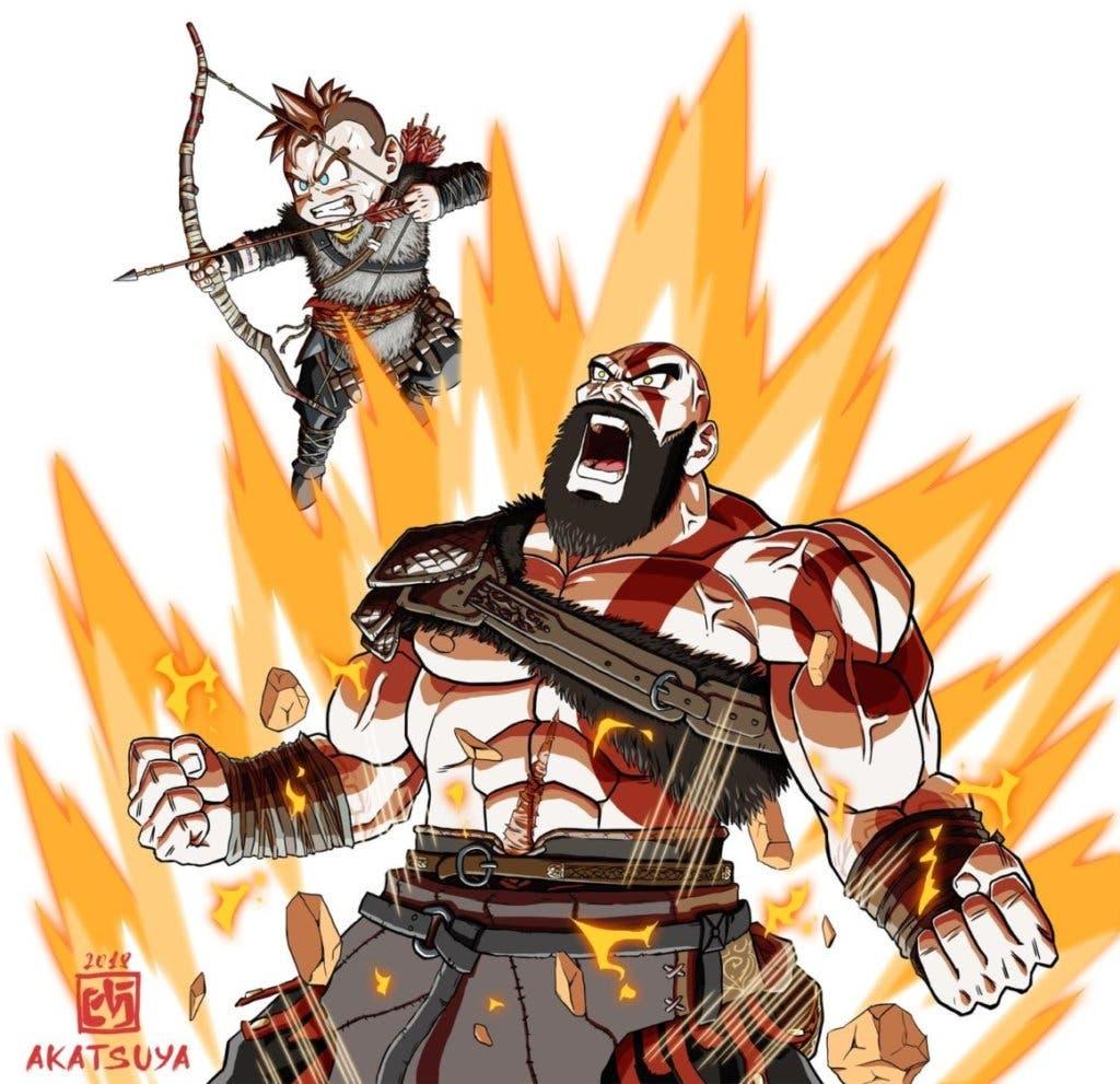 God of War Dragon Ball Z