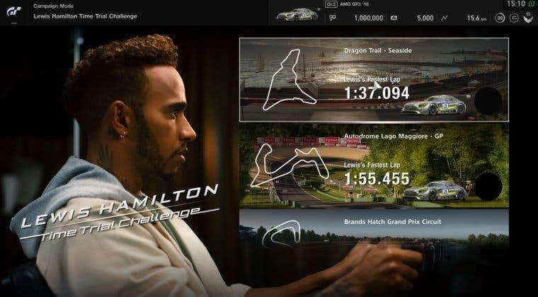 Imagen de Gran Turismo Sport recibe un contenido descargable apadrinado por Lewis Hamilton