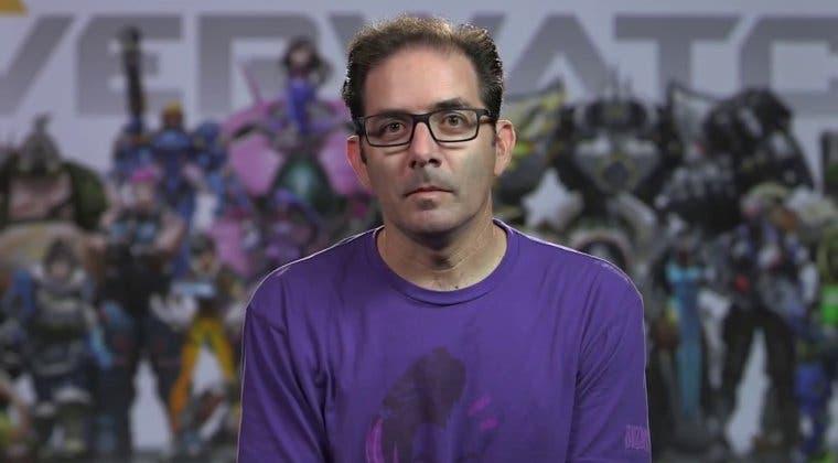 Imagen de Jeff Kaplan, vicepresidente de Blizzard, cree que se debería eliminar el veto al jugador pro Hong Kong