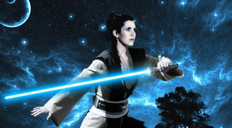 Imagen de Leia y su gran secreto en Star Wars: El Ascenso de Skywalker