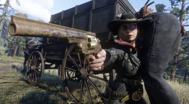 Imagen de Red Dead Online no tiene sistema de duelos pero los jugadores se las apañan así