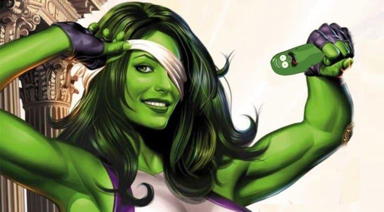 Imagen de Marvel encuentra en Rick y Morty a la showrunner de She-Hulk