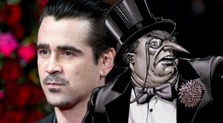 Imagen de Colin Farrell sobrevuela The Batman para el papel de Pingüino