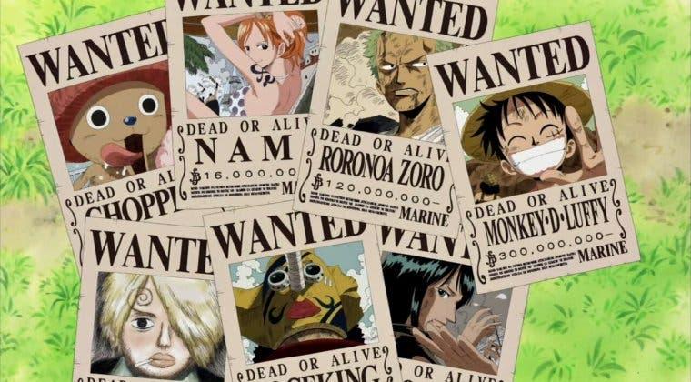 Imagen de Top 10 recompensas más altas de One Piece: de Luffy a Gol D. Roger