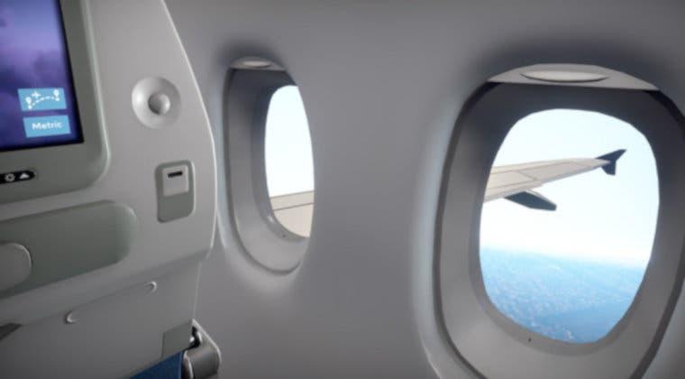 Imagen de Simula ser un pasajero de avión de la mano de Airplane Mode