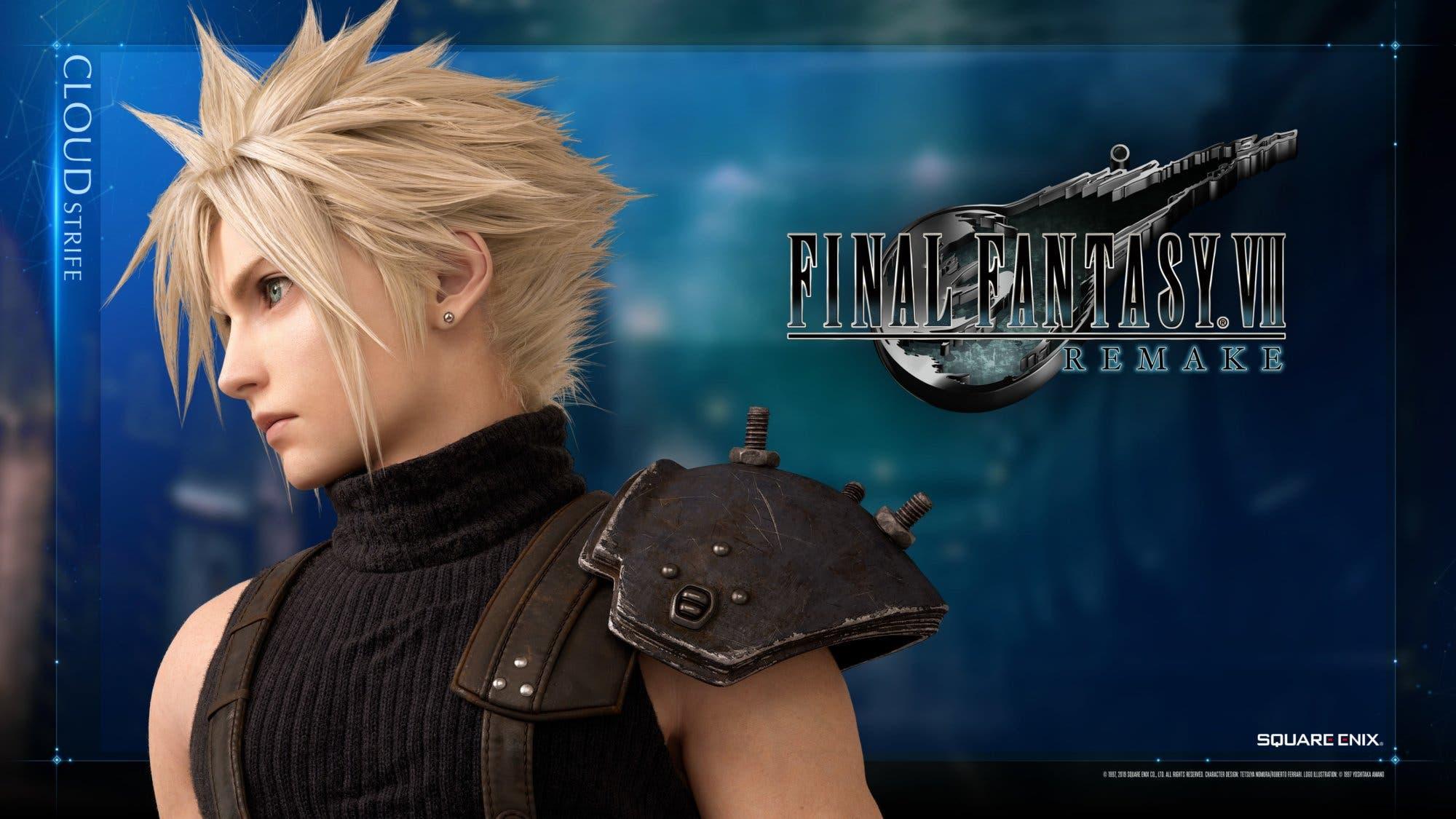 Final Fantasy Vii Remake Muestra Teaser Avatares Y Fondos