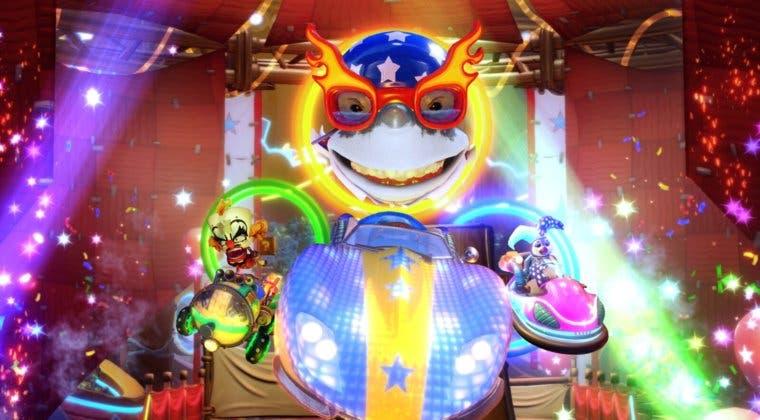 Imagen de Crash Team Racing Nitro-Fueled presenta y fecha el nuevo Grand Prix Circo de Neón