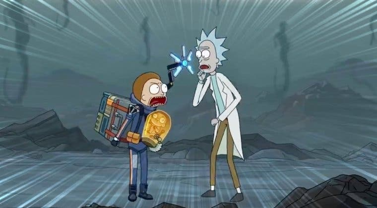 Imagen de Así es el divertido guiño de Rick & Morty a Death Stranding