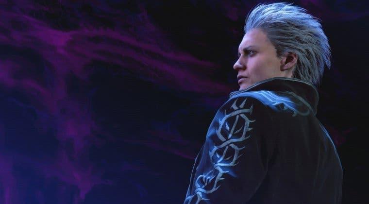 Imagen de Vergil de Devil May Cry 5 se luce en una nueva e imponente figura