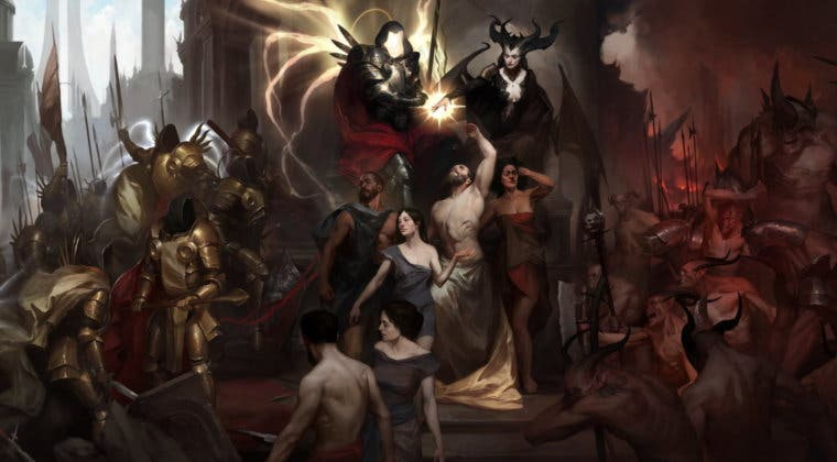Imagen de Diablo IV podría haber sido un juego en tercera persona como God of War o Dark Souls