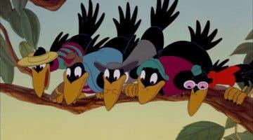 Imagen de Los cuervos siguen estando presentes en la versión de Dumbo para Disney+