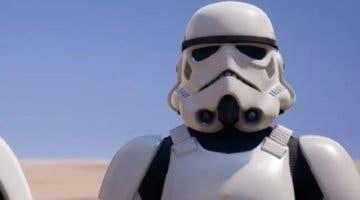 Imagen de Ya disponible por tiempo limitado la skin Stormtrooper en Fortnite