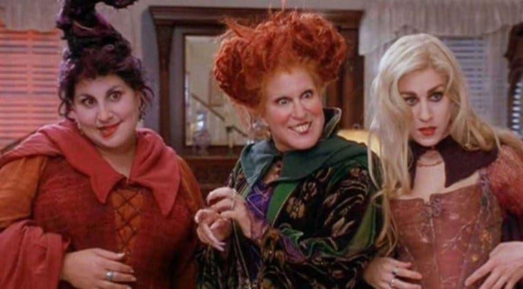 Imagen de El reparto original de El Retorno de las Brujas (Hocus Pocus) estará de vuelta en su secuela