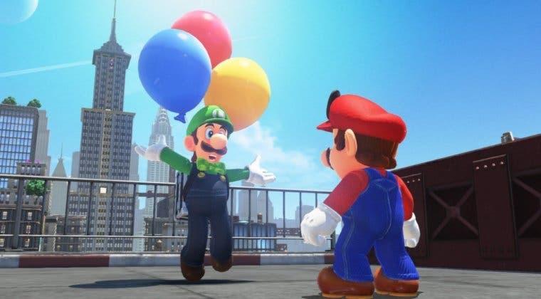 Imagen de El aspecto de Luigi en Super Mario Odyssey contiene un especial guiño retro