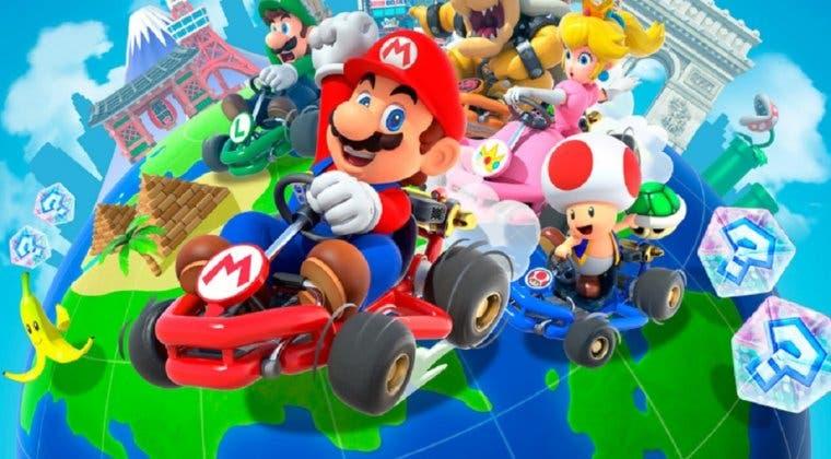 Imagen de Mario Kart Tour nos deja con los nuevos desafíos de Invierno de su segunda semana