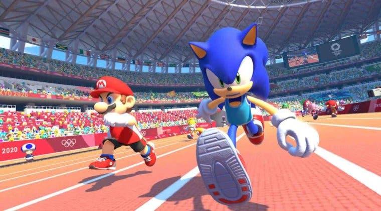 Imagen de Sorteamos una copia de Mario & Sonic en los Juegos Olímpicos: Tokio 2020 + Joy-Con de Nintendo Switch